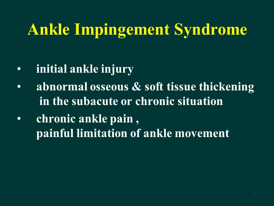 impingement syndrome case study and soap