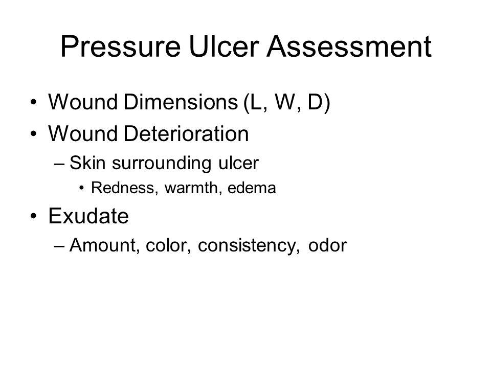 Pressure Ulcer Assessment