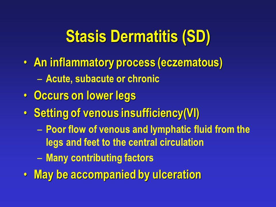 Stasis Dermatitis (SD)