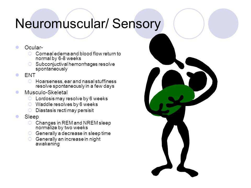 Neuromuscular/ Sensory