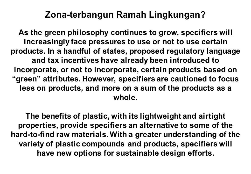 Zona-terbangun Ramah Lingkungan