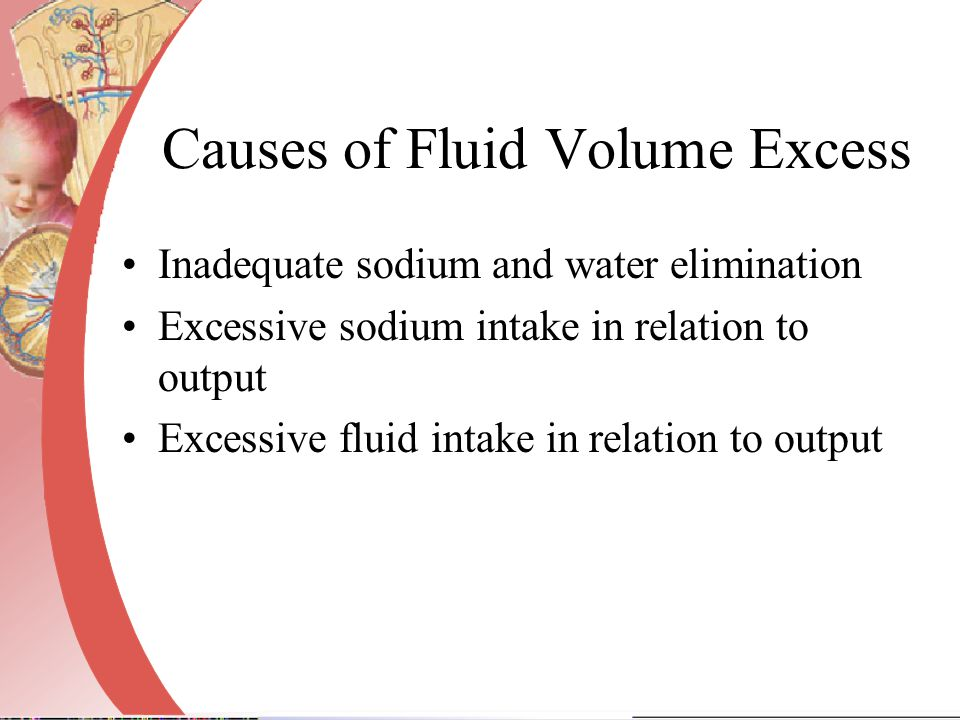 Causes of Fluid Volume Excess