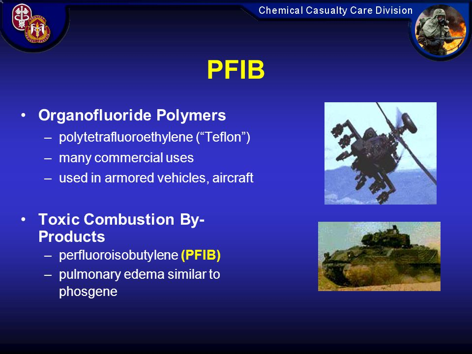 PFIB Organofluoride Polymers Toxic Combustion By-Products