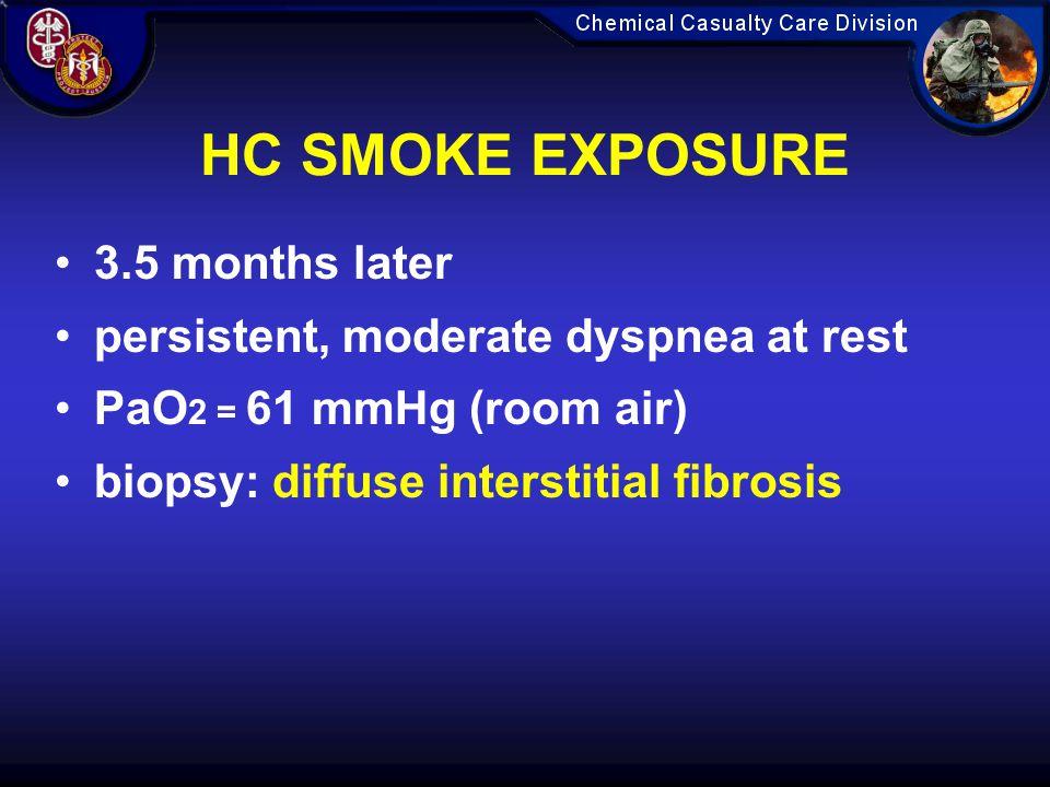HC SMOKE EXPOSURE 3.5 months later