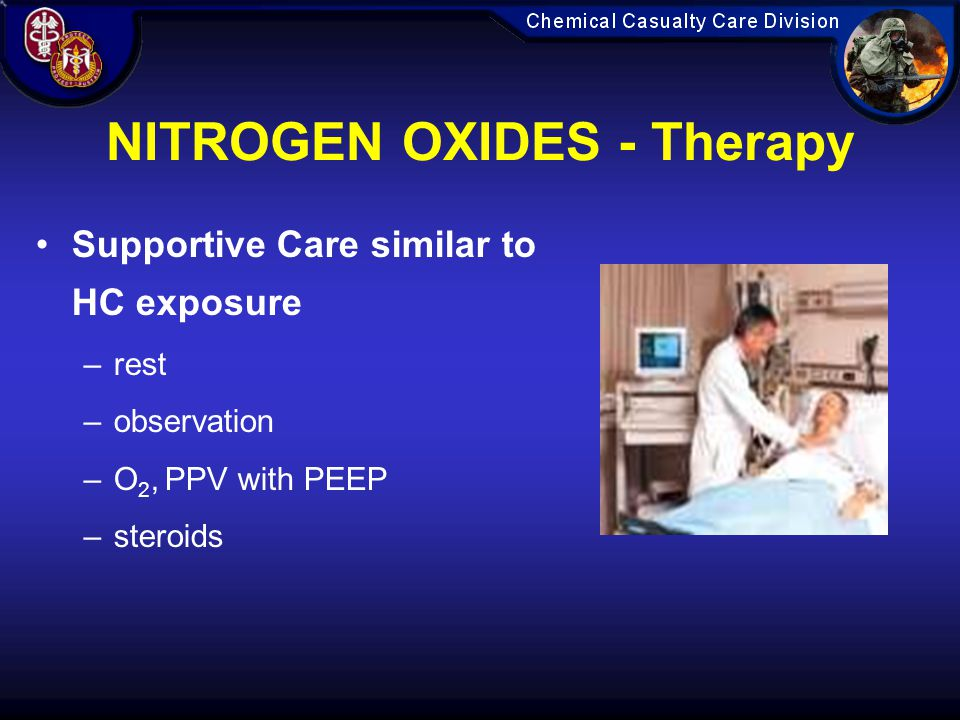 NITROGEN OXIDES - Therapy