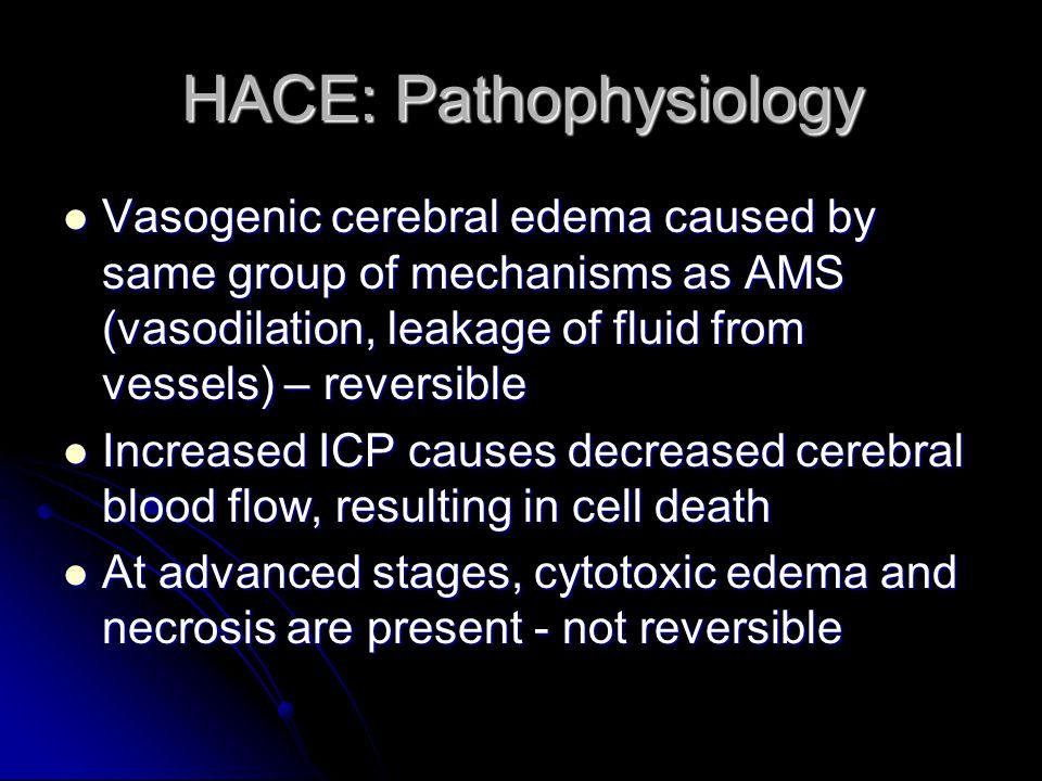 HACE: Pathophysiology