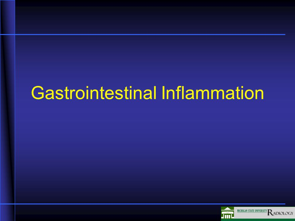Gastrointestinal Inflammation