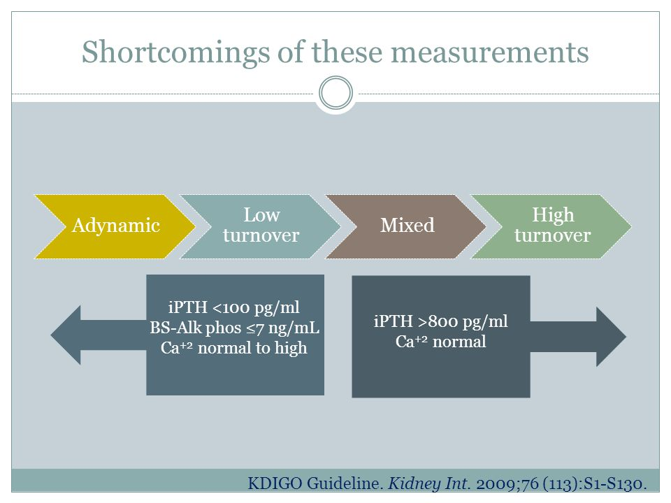 Shortcomings of these measurements