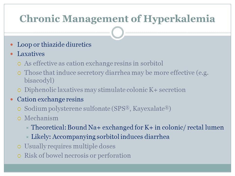 Chronic Management of Hyperkalemia