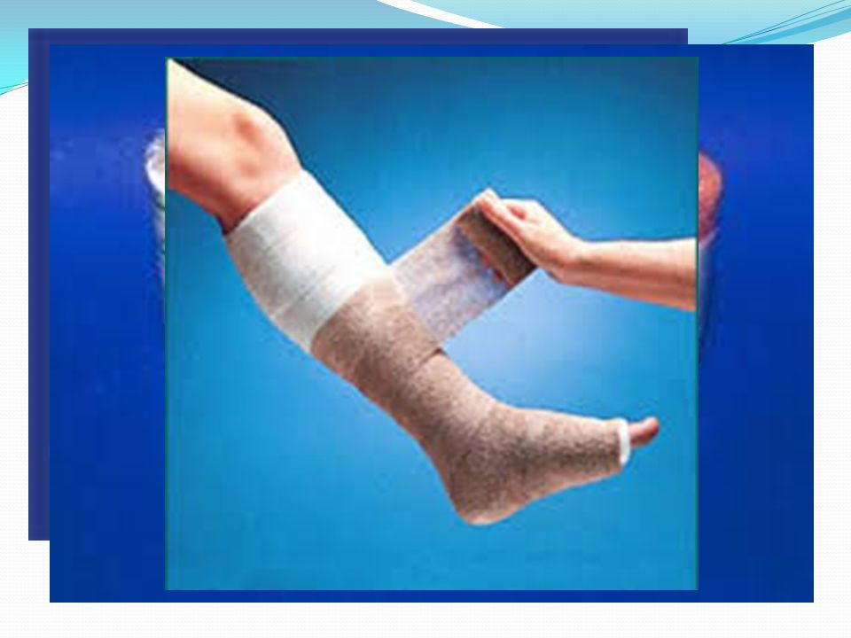 Compression Bandages Elastic In-elastic Types: ACE wrap Easier to use