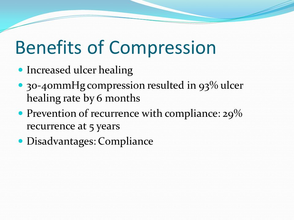 Benefits of Compression
