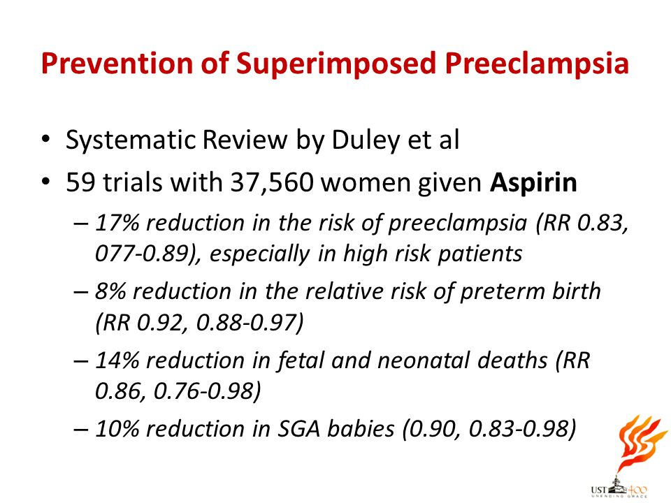 Prevention of Superimposed Preeclampsia