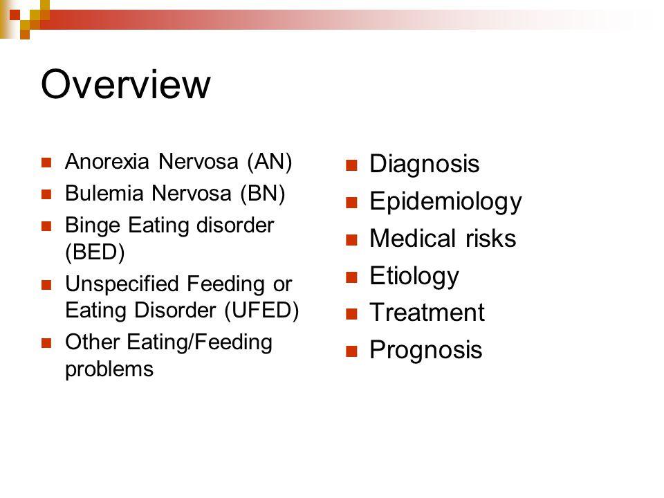 Overview Diagnosis Epidemiology Medical risks Etiology Treatment