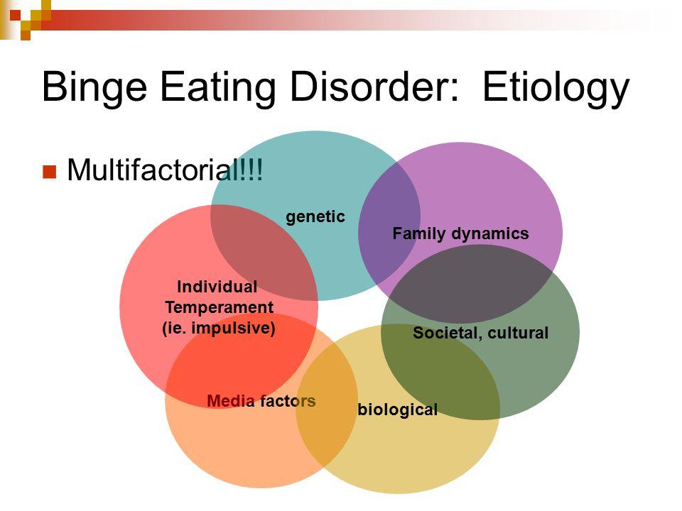 Binge Eating Disorder: Etiology