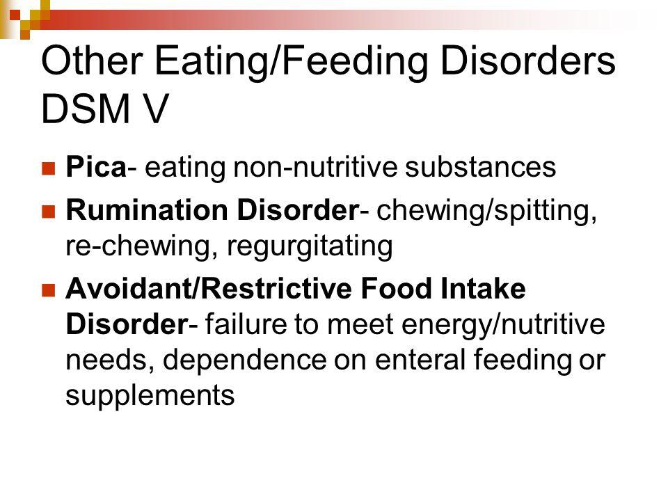 Other Eating/Feeding Disorders DSM V