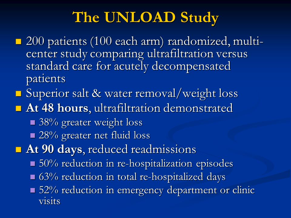 The UNLOAD Study