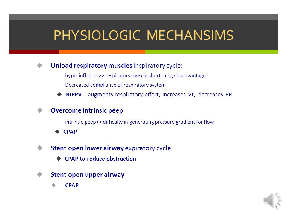 PHYSIOLOGIC MECHANSIMS