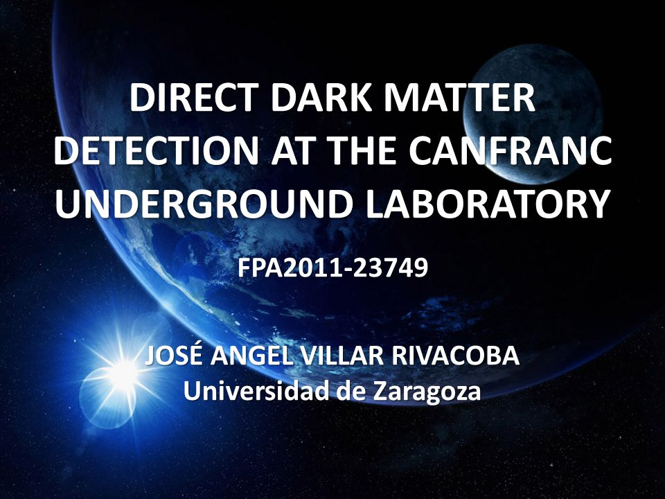 DIRECT DARK MATTER DETECTION AT THE CANFRANC UNDERGROUND LABORATORY
