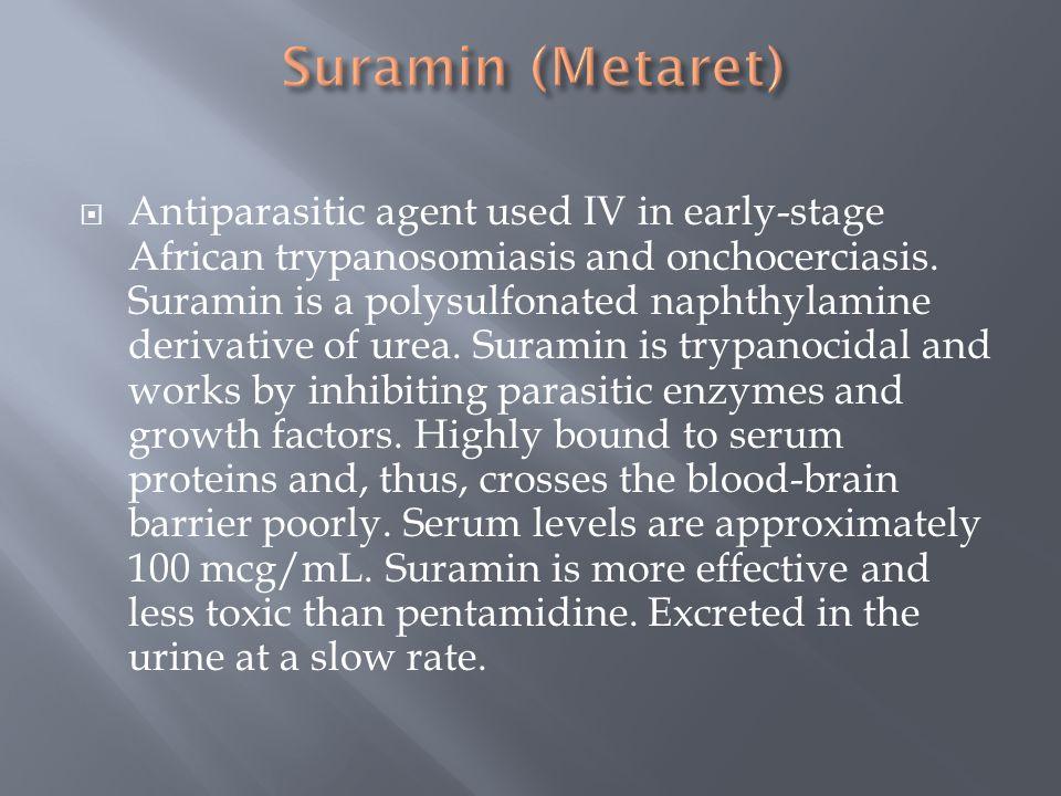 Suramin (Metaret)