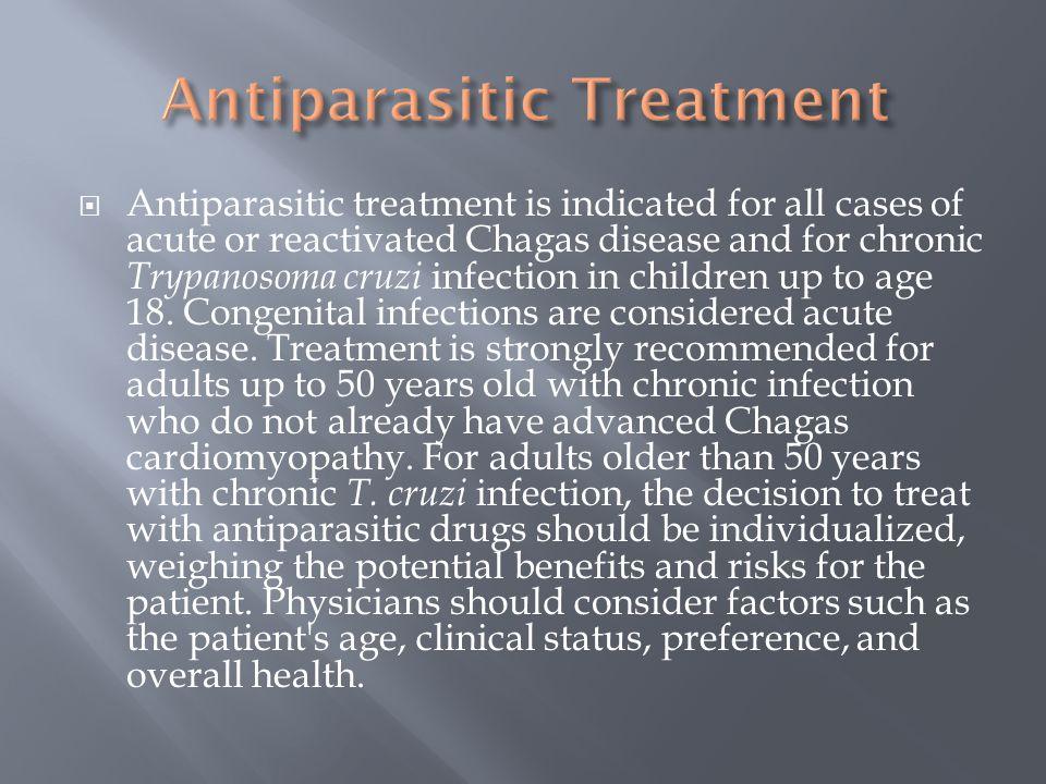 Antiparasitic Treatment