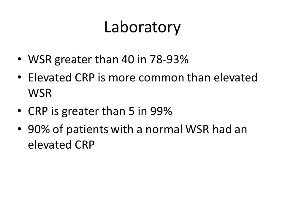 Laboratory WSR greater than 40 in 78-93%