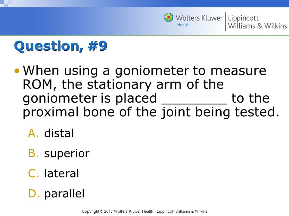 Question, #9