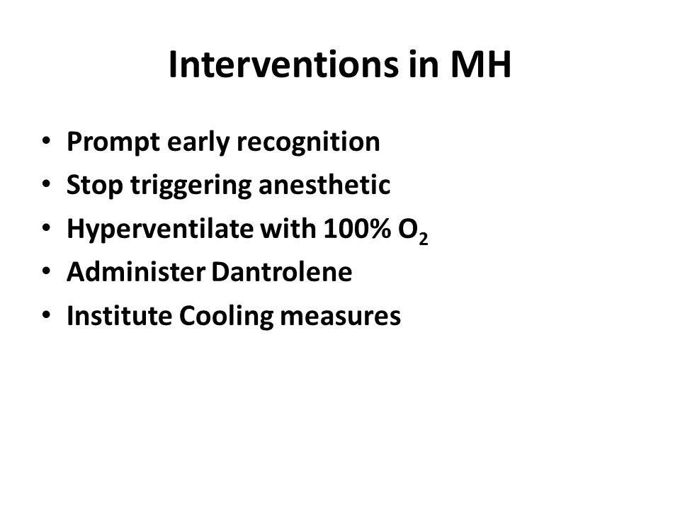 Interventions in MH Prompt early recognition