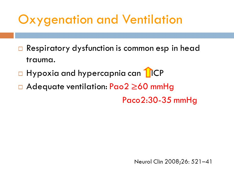 Oxygenation and Ventilation