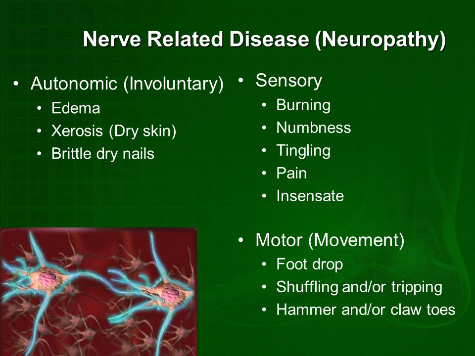Nerve Related Disease (Neuropathy)
