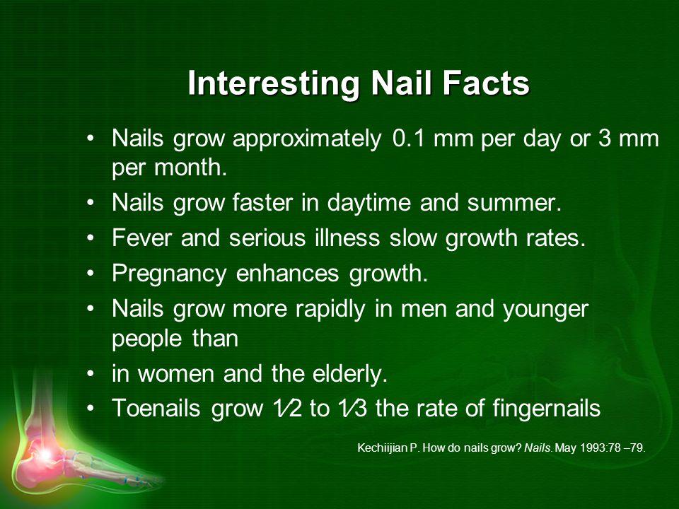 Interesting Nail Facts