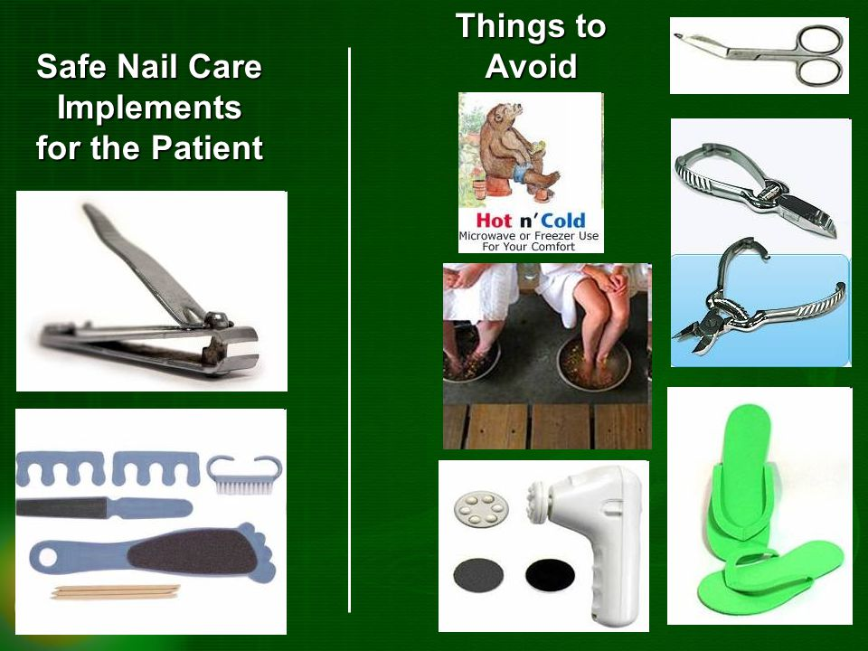Safe Nail Care Implements