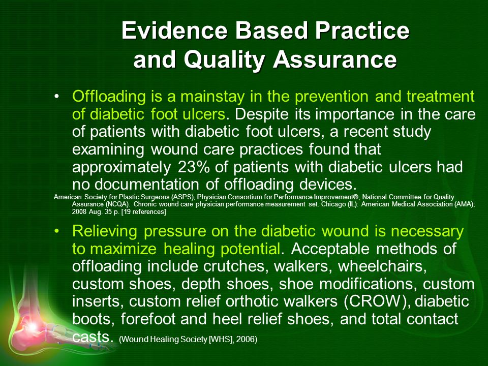 Evidence Based Practice and Quality Assurance
