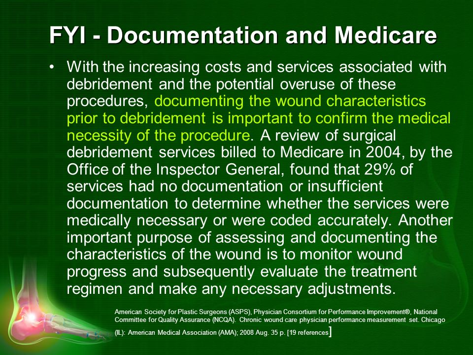FYI - Documentation and Medicare