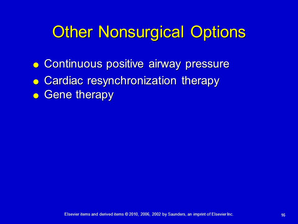 Other Nonsurgical Options