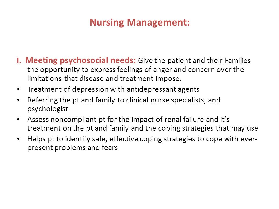 Nursing Management: