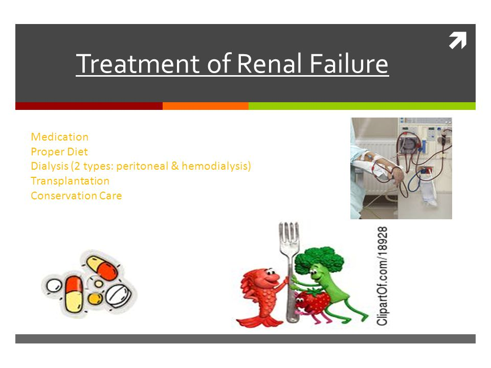 Treatment of Renal Failure