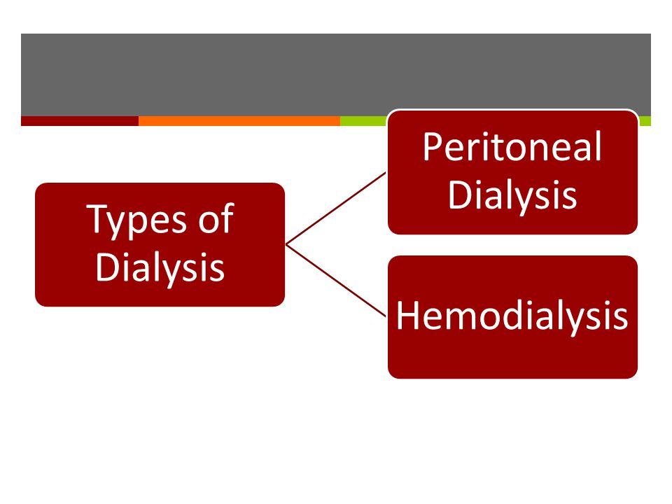 Types of Dialysis Peritoneal Dialysis Hemodialysis
