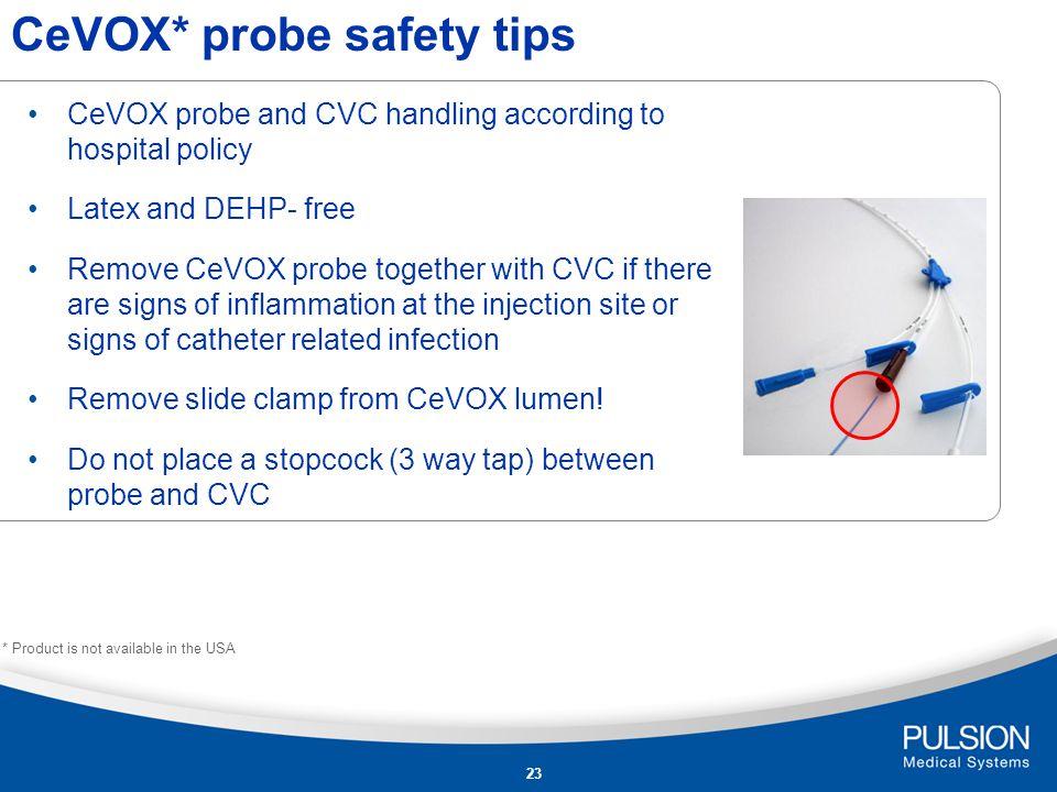 CeVOX* probe safety tips