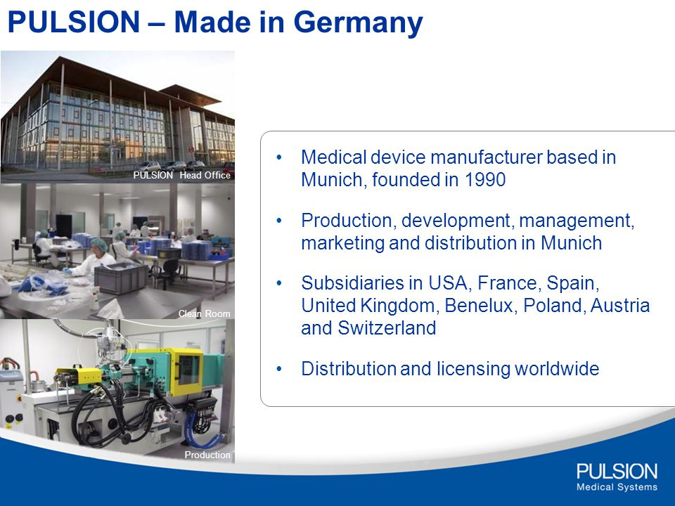 PULSION – Made in Germany