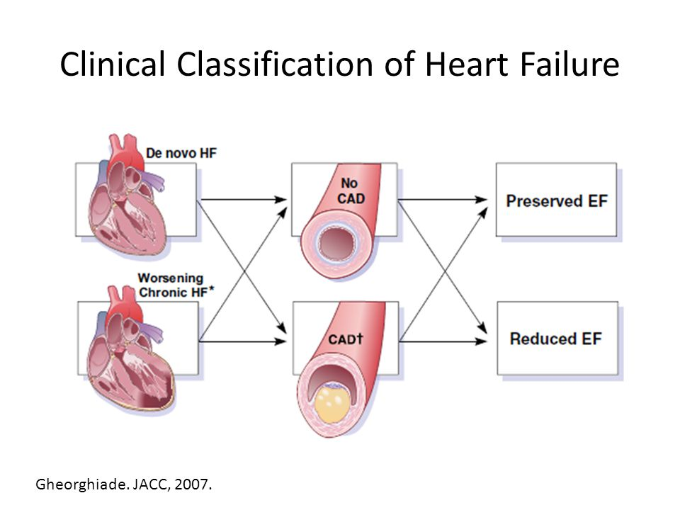 Clinical Classification of Heart Failure