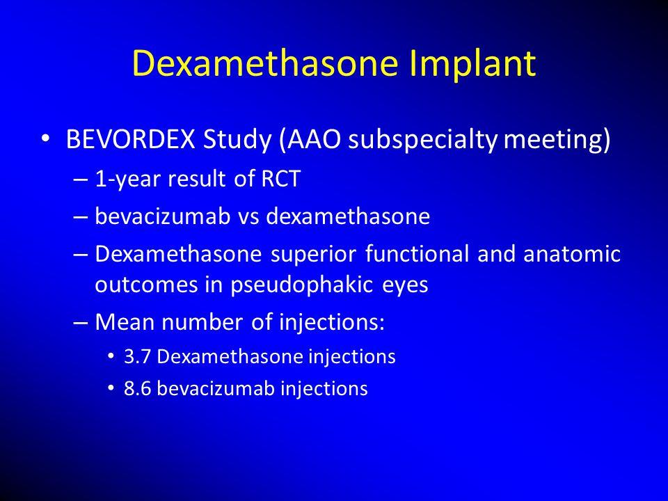 Dexamethasone Implant