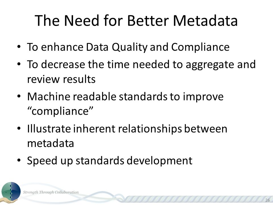 The Need for Better Metadata