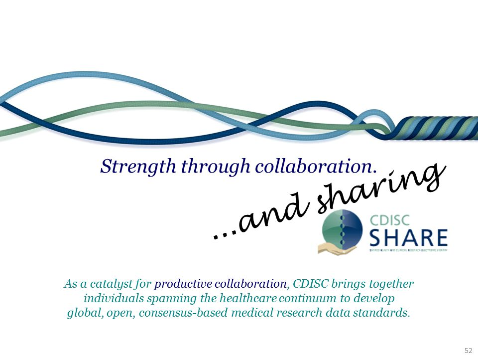 Strength through collaboration.