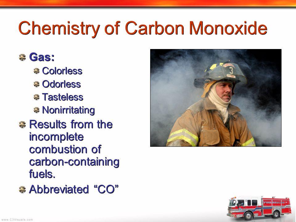 Chemistry of Carbon Monoxide