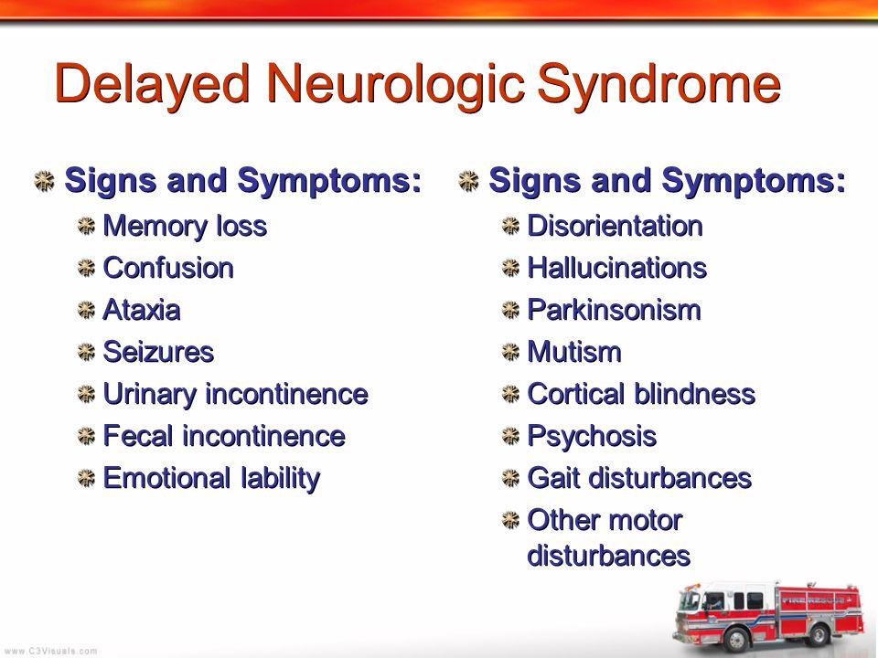 Delayed Neurologic Syndrome