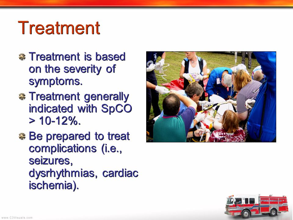 Treatment Treatment is based on the severity of symptoms.