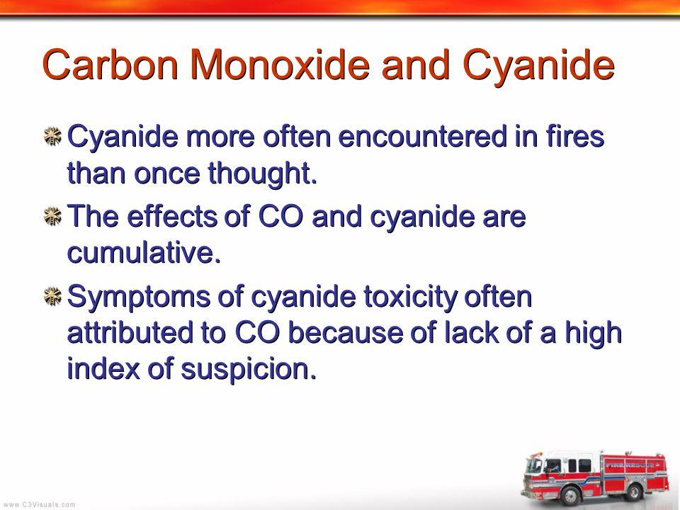 Carbon Monoxide and Cyanide