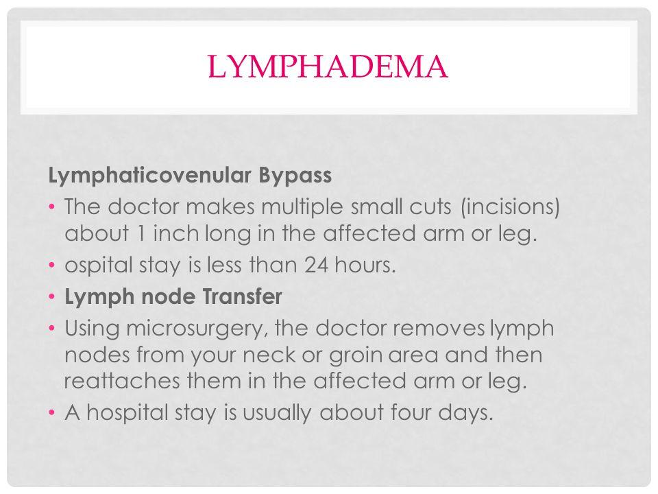 lymphadema Lymphaticovenular Bypass