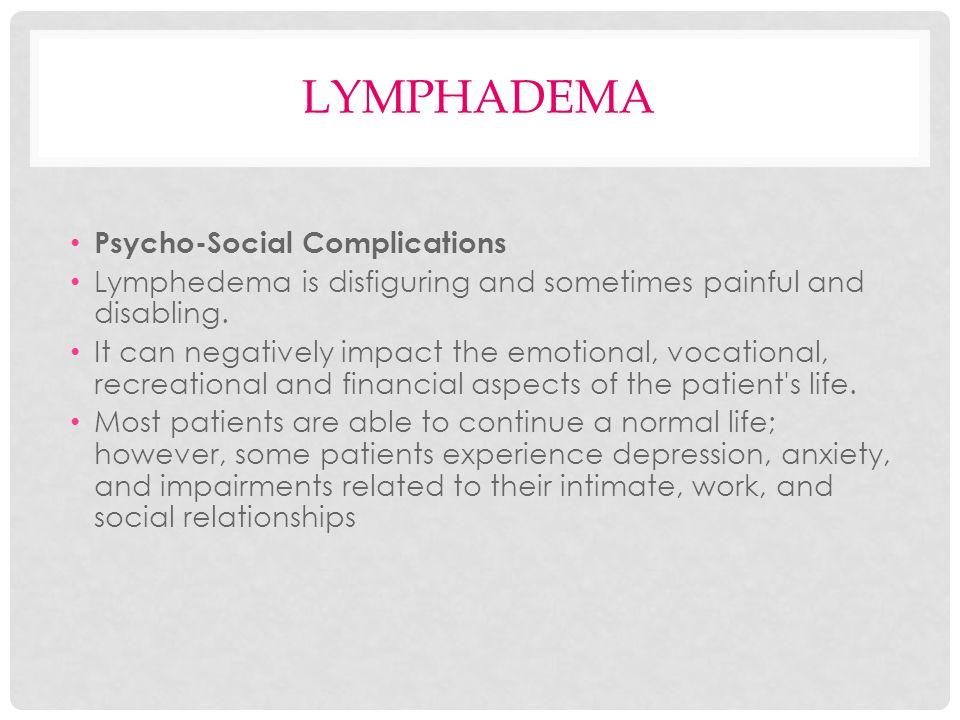 lymphadema Psycho-Social Complications