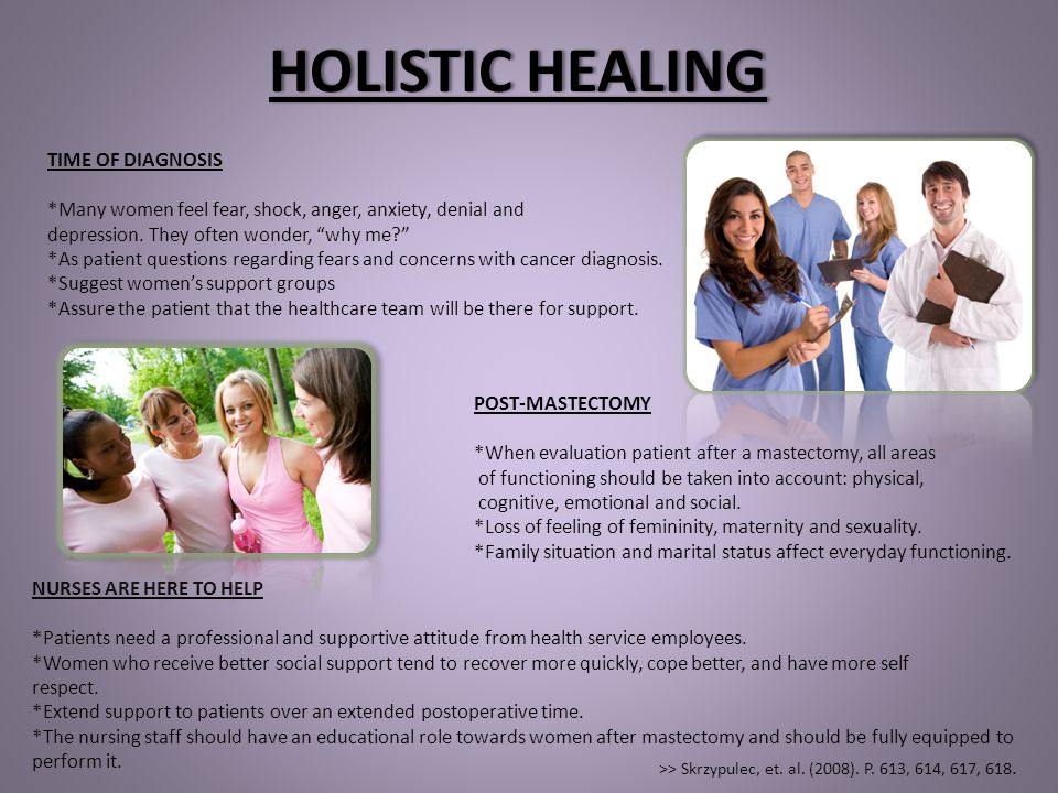 HOLISTIC HEALING TIME OF DIAGNOSIS